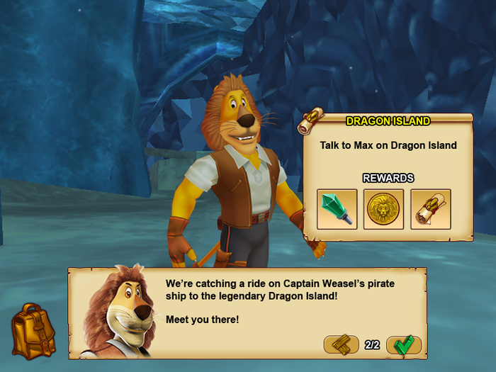 Questing alongside Max and other heroes